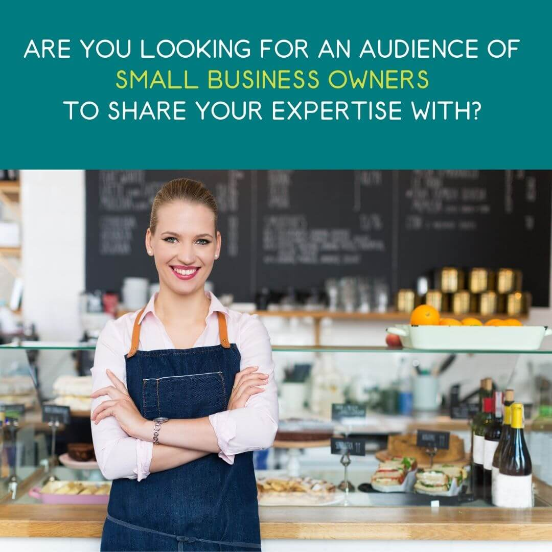5 ways a social media strategy will elevate your brand - small business owner standing in front of counter