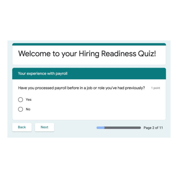 Hiring Readiness Mini eCourse - Are you ready to hire employees?